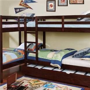 Lyme Quadruple Twin Bunk Bed