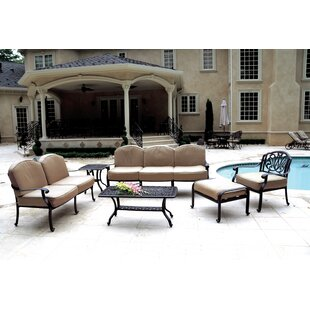 Michelson 6 Piece Sunbrella Sofa Seating Group With Cushions By House Of Hampton