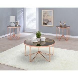 Wrought Studio Bock 2 Piece Coffee Table Set
