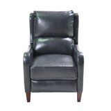 Elwes Push Back Leather Manual Recliner by Canora Grey