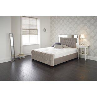 Garret Upholstered Bed Frame By Willa Arlo Interiors