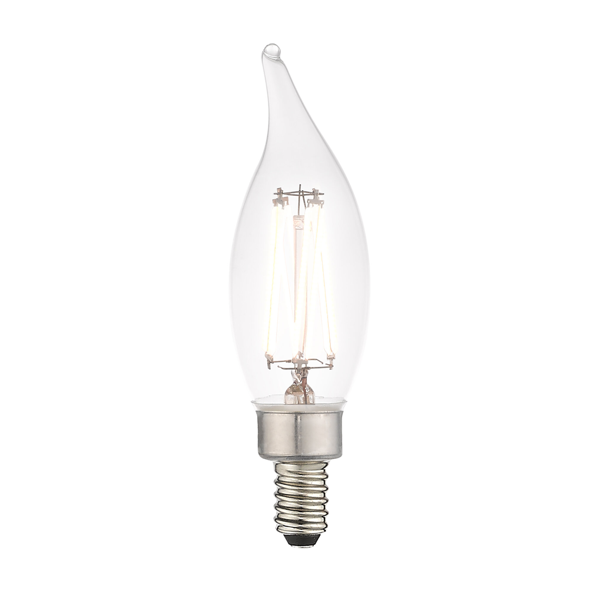 Jtechs Inc 60 Watt Equivalent Ca10 Led Dimmable Light Bulb Warm White 2700k E12 Candelabra Base Reviews Wayfair
