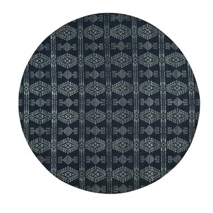 Best Reviews Lipinski Flat Weave Reversible Kilim Hand-Knotted Black/Gray Area Rug ByBloomsbury Market