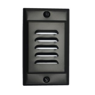 NICOR Lighting Vertical Faceplate LED Step Light
