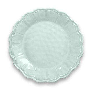 Robstown Scallop Melamine Dinner Plate (Set of 6) (Set of 6)