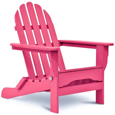 Paterson Plastic Folding Adirondack Chair by August Grove