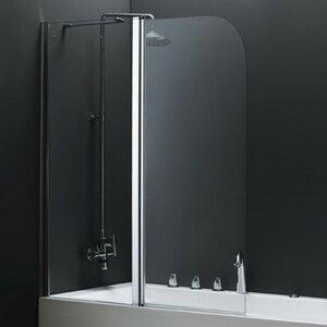 140 x 115 cm Duschwand Saxon von Belfry Bathroom