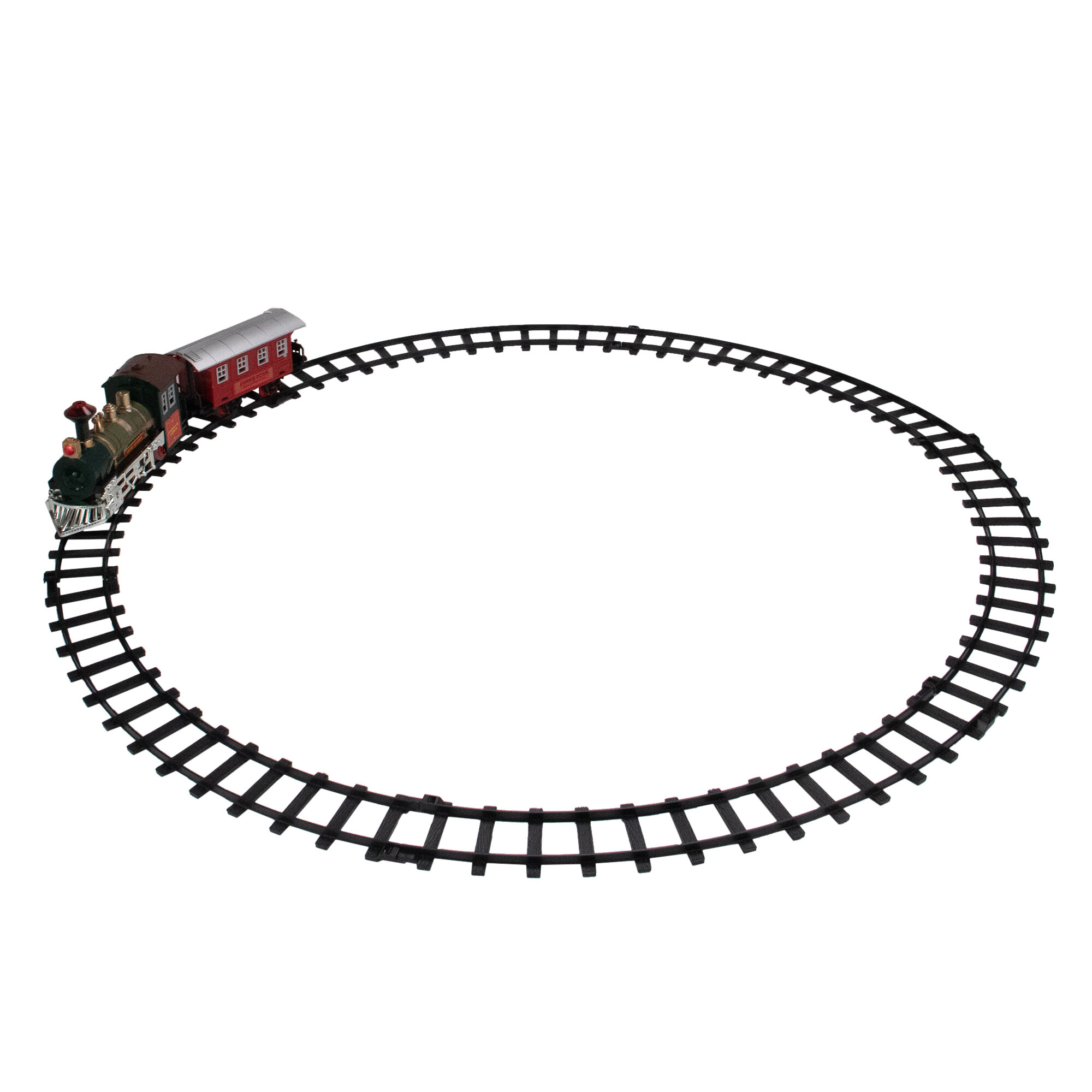 Northlight 8 Piece Battery Operated Classic Train Decorative Accent Set Wayfair