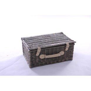 Uvalda 4 Person Wicker Picnic Basket By Brambly Cottage