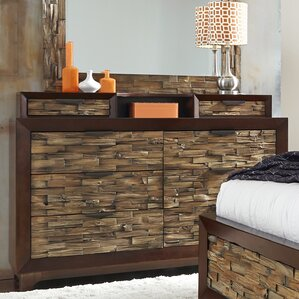 Adonia 8 Drawer Standard Dresser by World Menagerie