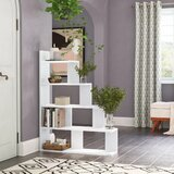 Ziolkowski Step Bookcase by Latitude Run®