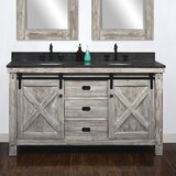 61 Double Bathroom Vanity Set by Gracie Oaks