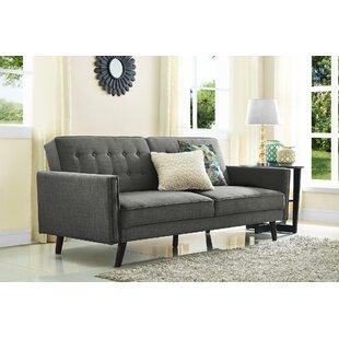 Farrington Gurney Linen Coil Convertible Sofa