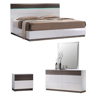 Elida B Platform Configurable Bedroom Set