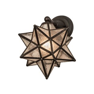 Compare Quon Moravian Star Outdoor Sconce By World Menagerie