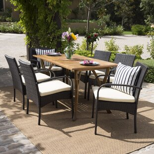 Traxler 7 Piece Dining Set by Latitude Run