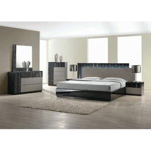 Queen Bedroom Sets modern queen bedroom sets | allmodern