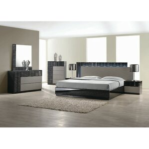 Kahlil Platform 5 Piece Bedroom Set Modern  Contemporary Sets AllModern