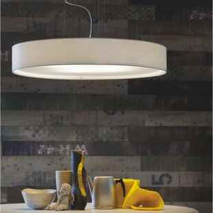 ZANEEN design Mirya 5-Light Drum Chandelier
