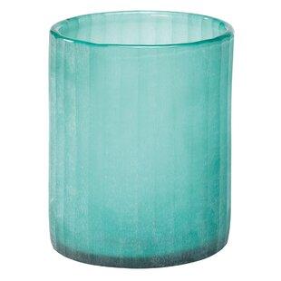 Seaglass Candle Hurricane (Set of 3)