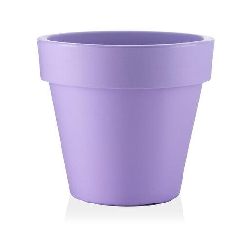 Cranon Plastic Plant Pot Freeport Park Colour: Lavender, Siz