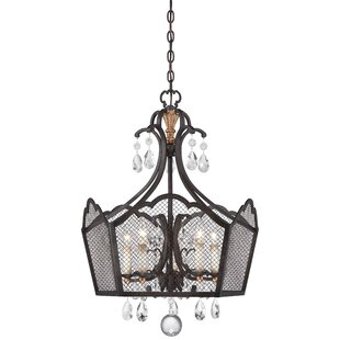 Metropolitan by Minka Cortona 5-Light Foyer Pendant