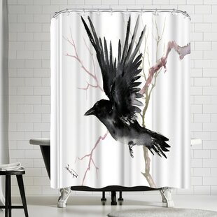 Suren Nersisyan Emperor Penguin Single Shower Curtain