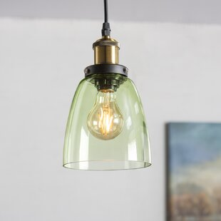 Gracie Oaks Jehanne 1-Light Cone Pendant