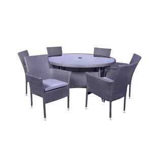 Marylyn 6 Seater Dining Set With Cushions Image