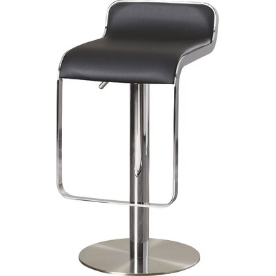 Miraculous Wade Logan Landen Adjustable Height Swivel Bar Stool Seat Cjindustries Chair Design For Home Cjindustriesco