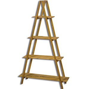 A-Frame 4 Tier Folding Standard Baker's Rack by Whole House Worlds