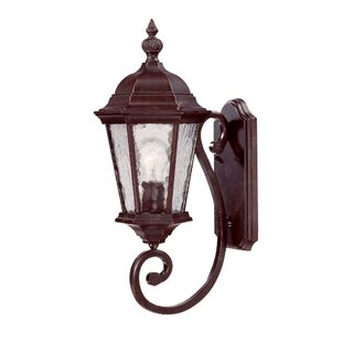 Read Reviews Brook Lane 1-Light Outdoor Sconce By Darby Home Co