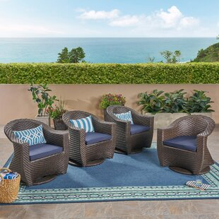 Gaviota Patio Chair with Cushions (Set of 4)