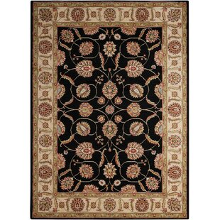 Affordable Price Belle Haven Black/Gray Area Rug By Charlton Home