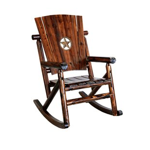 Leigh Country Char-Log Star Medallion Rocking Chair II