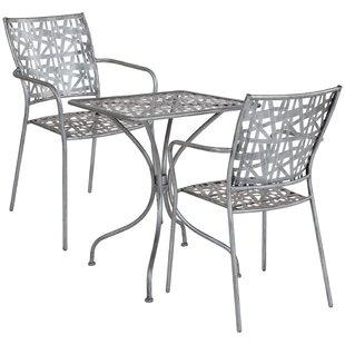 Ocilla 3 Piece Bistro Set by Ebern Designs
