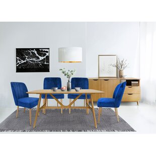 Ainzlee Dining Set With 4 Chairs And 1 Bench By 17 Stories