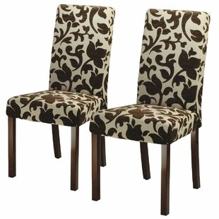 Three Posts Wasson Parsons Chair (Set of 2)