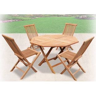 Folding Outdoor Table Set | Wayfair