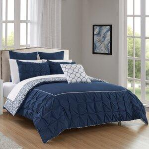 Barre 7 Piece Reversible Comforter Set