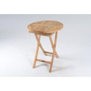 Stewart Folding Teak Bistro Table