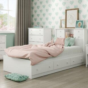 Little Smileys Twin Mate's & Captain's Bed with Drawers by South Shore
