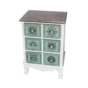 Holgate 3 Drawer Accent Chest by Highland Dunes