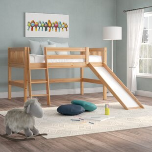 Reviews Isabelle Twin Low Loft Bed by Viv + Rae Reviews (2019) & Buyer's Guide