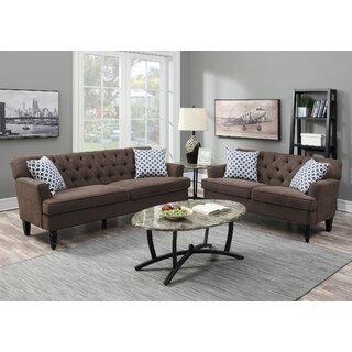 Americus 2 Piece Living Room Set by Charlton Home SKU:CE251312 Details