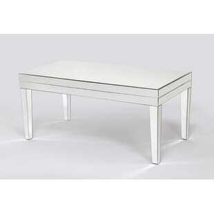 Online Reviews Menke Beveled Mirror Coffee Table By House of Hampton