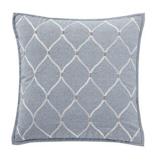 Blue Diamond Pillow Wayfair