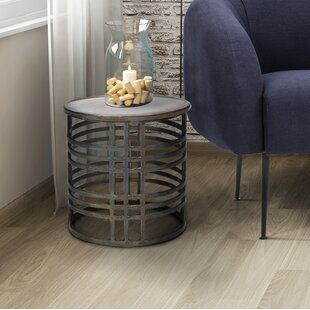 Charmayne Accent Stool by 17 Stories
