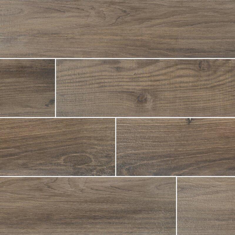 Msi Axiwood 6 X 36 Ceramic Wood Look