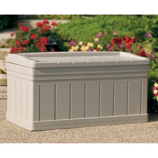 Suncast Deluxe 129 Gallon Resin Deck Box